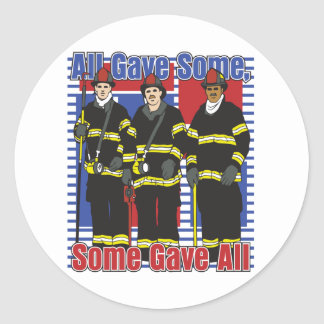 Firefighters Some Gave All Sticker