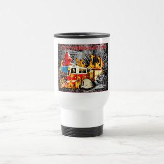 firefighters travel mug