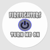 Firefighters Turn Me On Sticker