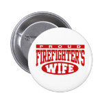 Firefighter's Wife 2 Inch Round Button