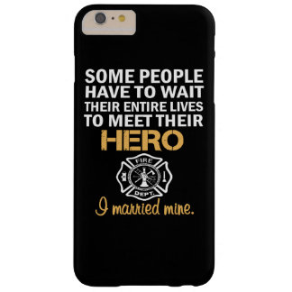 FIREFIGHTER'S WIFE BARELY THERE iPhone 6 PLUS CASE