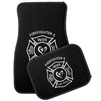 Firefighters Wife Car Floor Mat