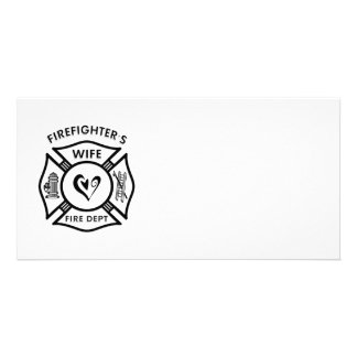 Firefighter's Wife Card