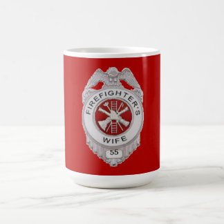 Firefighter's Wife Custom Coffee Mug