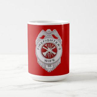 Firefighter's Wife Custom Coffee Mug