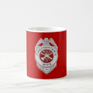Firefighter's Wife Custom Mug