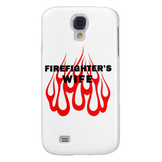Firefighter's Wife Flames Galaxy S4 Case