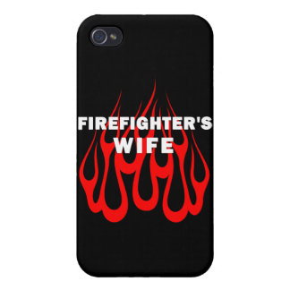 Firefighters Wife Flames iPhone 4/4S Case