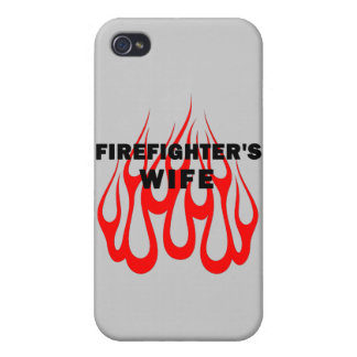 Firefighters Wife Flames iPhone 4/4S Covers