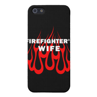 Firefighters Wife Flames iPhone 5/5S Cover