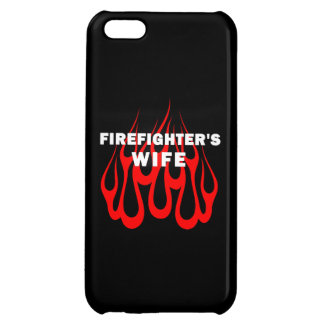 Firefighters Wife Flames iPhone 5C Cover