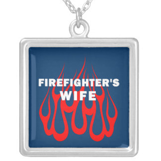 Firefighter's Wife Flames Jewelry
