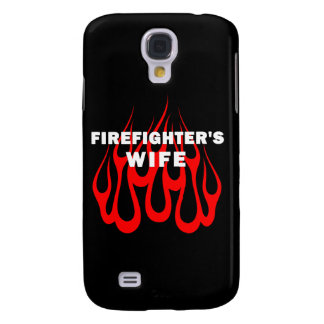 Firefighter's Wife Flames Samsung Galaxy S4 Cases