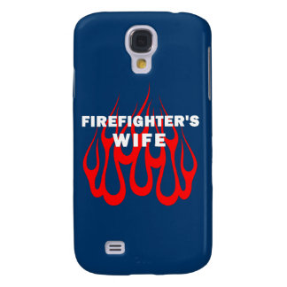 Firefighter's Wife Flames Samsung Galaxy S4 Covers