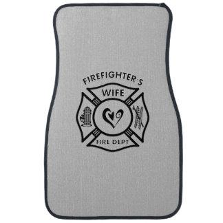 Firefighters Wife Floor Mat