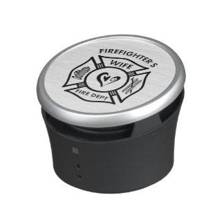 Firefighters Wife Heart Speaker