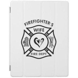 Firefighters Wife iPad Cover