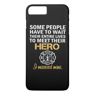 FIREFIGHTER'S WIFE iPhone 7 PLUS CASE