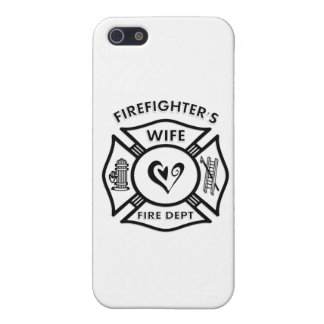 Firefighters Wife Covers For iPhone 5