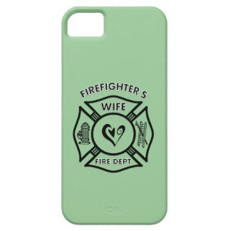 Firefighters Wife Maltese Heart iPhone 5 Cases