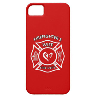 Firefighters Wife Maltese Heart iPhone 5 Cover