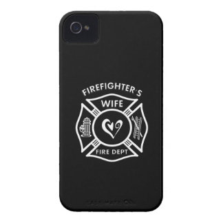 Firefighters Wife Maltese Heart iPhone 4 Cover