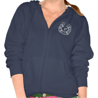 Firefighters Wife Maltese Heart Pullover