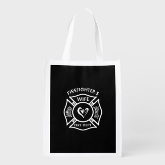 Firefighters Wife Market Tote