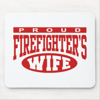 Firefighter's Wife Mouse Pad