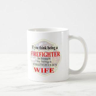 FIREFIGHTERS WIFE- MUG