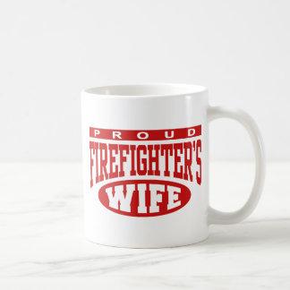 Firefighter's Wife Classic White Coffee Mug