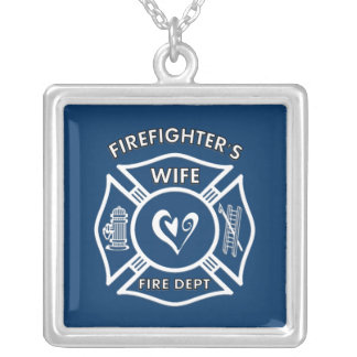 Firefighter's Wife Custom Necklace