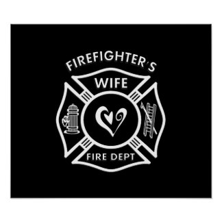Firefighter's Wife Poster