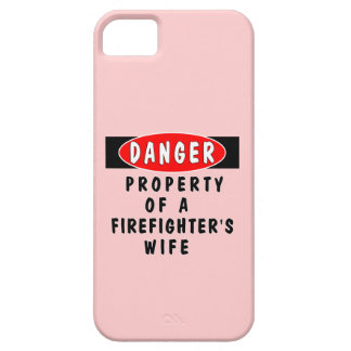Firefighters Wife Property iPhone 5 Cover