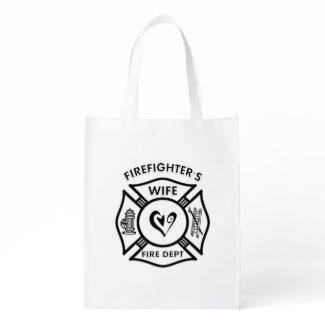 Firefighters Wife Bags Personalized