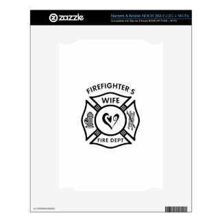 Firefighters Wife Skins For The NOOK
