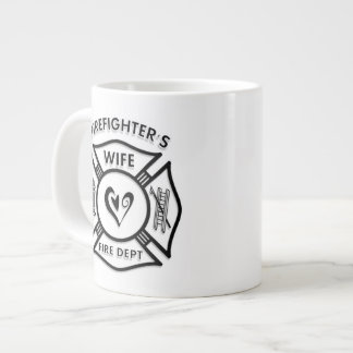 Firefighters Wife Extra Large Mugs
