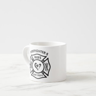 Firefighters Wife Espresso Cup