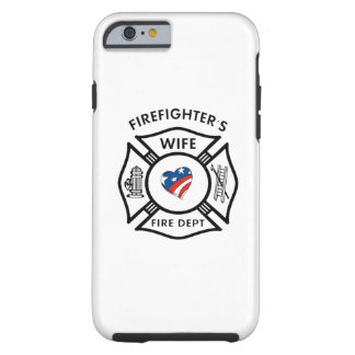 Firefighters Wife USA iPhone 6 Case