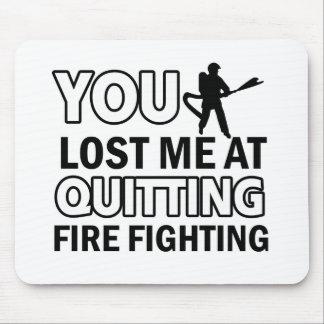 Firefighting designs mousepads