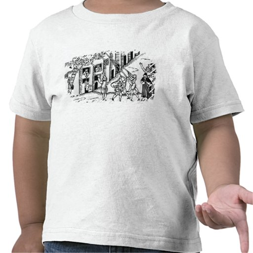 Firefighting during the Great Fire of London Tee Shirts