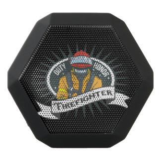 Firefighting Duty and Honor Black Bluetooth Speaker