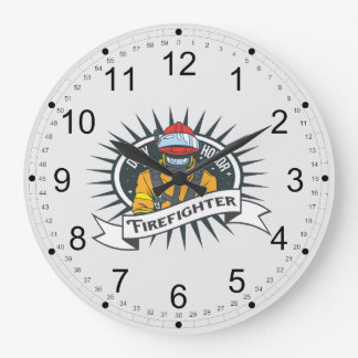 Firefighting Duty and Honor Wall Clocks