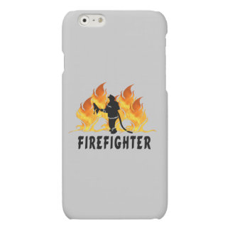 Firefighting Flames Matte iPhone 6 Case