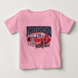 Firefighting is in my Blood Baby T-Shirt