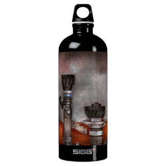 Firefighting - One for everyone Aluminum Water Bottle