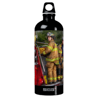 Firefighting - Only you can prevent fires Aluminum Water Bottle