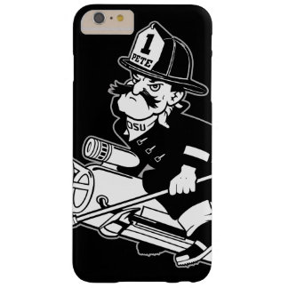 Firefighting Pete - Black and White Barely There iPhone 6 Plus Case