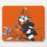 "Firefighting Pete - Color Mouse Pad<br><div class=""desc"">Firefighting Pete</div>"
