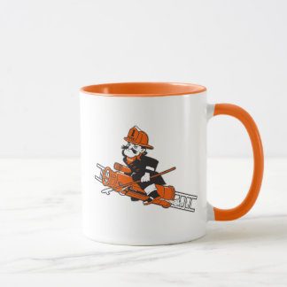 Firefighting Pete - Color Mug